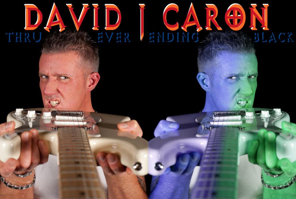 David J Caron guitars